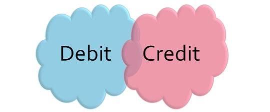 debit credit